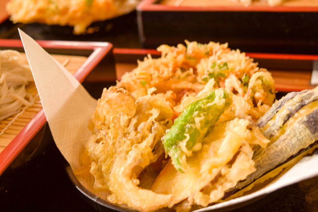 あらかわ亭料理天ぷら