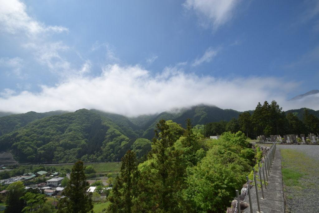芦ヶ久保観音様の景色