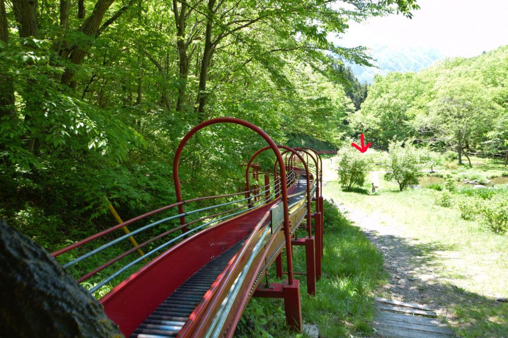 農村公園滑り台