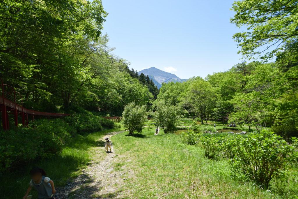 農村公園と武甲山