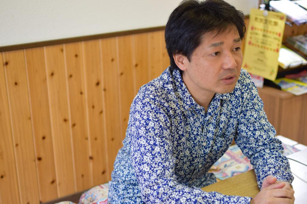 失敗を恐れずやるべき、と語る田端さん